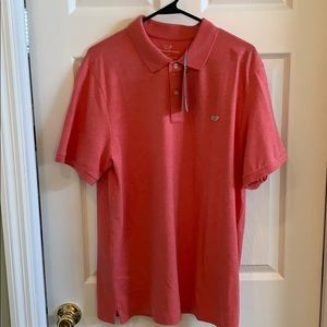 Jetty red vineyard vines polo shirt